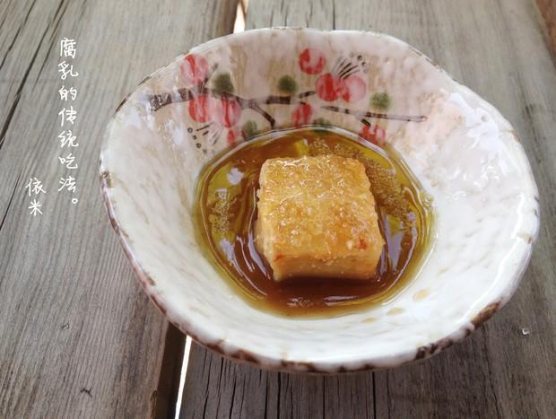 豆腐乳的吃法,腐乳的传统吃法的做法