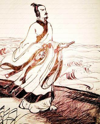 诗的作者,中国历史上的四大文豪是谁?(图)