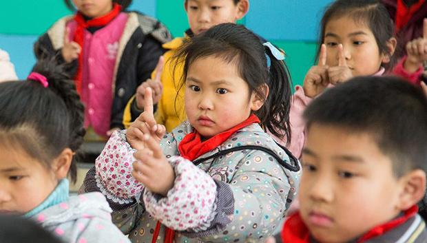 小学生眼保健操,绍兴小学生改做转眼版眼保健操 靠转眼防近视 看了大呼惊奇