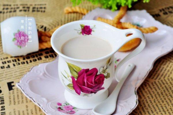奶茶的做法,自制奶茶的做法步骤