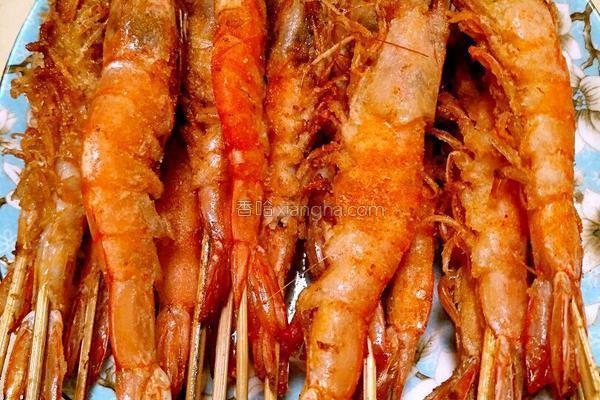 油炸大虾的做法,油炸大虾
