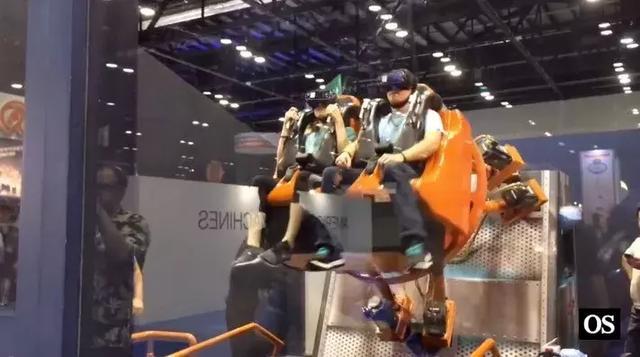 vr过山车,虚拟现实更合适小型主题公园 厂商推出专为过山车设计的VR一体机