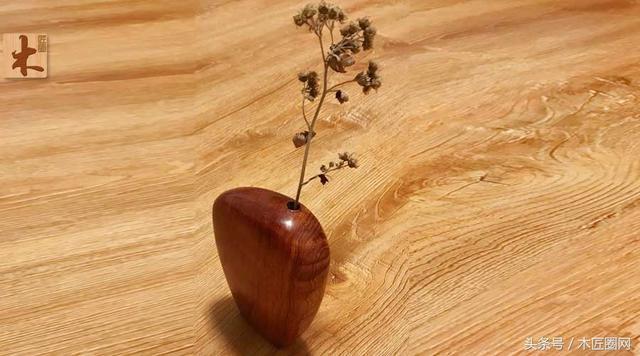 花瓶的做法,木工爱好达人,分享木质插花瓶的做法图解,摆在客厅立马韵味十足