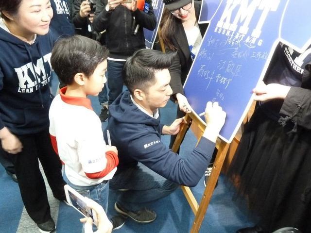 想不想爸爸當台北市長?蔣萬安兒子大喊一聲逗樂眾人