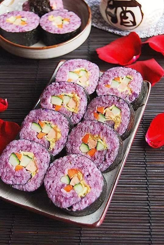 寿司的吃法,让人流口水的几种寿司做法,馋的是你的胃~