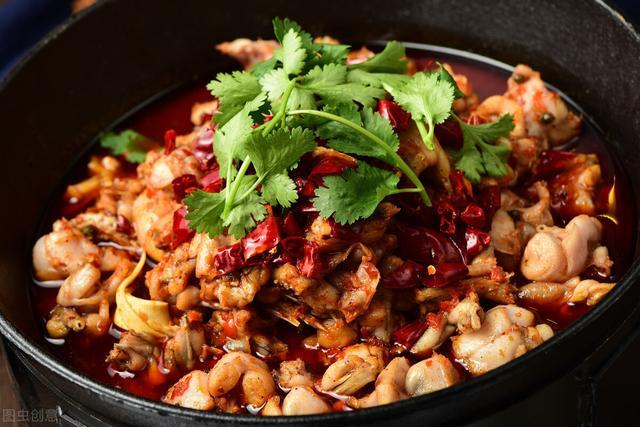 牛蛙的做法,香辣牛蛙,爆炒家常菜,香辣入味,外焦里嫩鲜香下饭,做法超简单