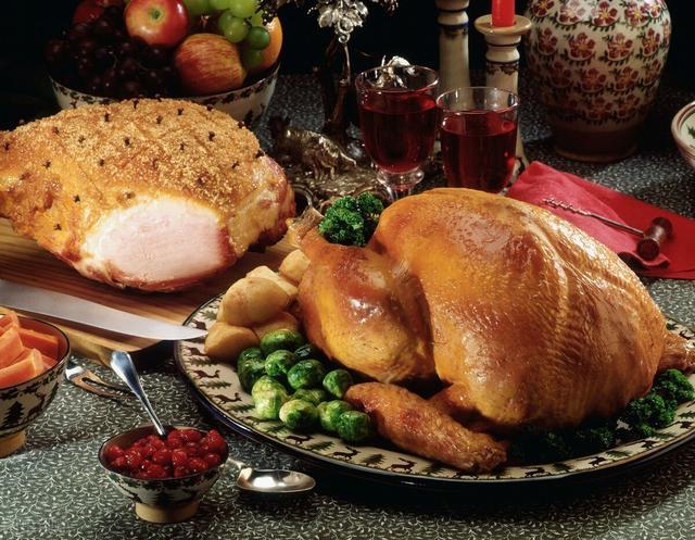 火鸡的吃法,不要只会买圣诞树!烤一盘火鸡才有过节的气氛,学会了去馋别人