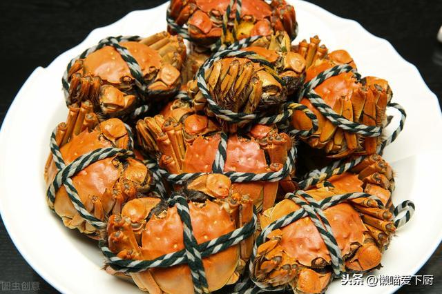 花蟹的吃法,螃蟹的5种家常做法,秋天吃螃蟹正当季,错过要再等1年