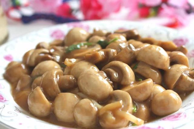 口蘑的做法,素炒口蘑,原汁原味的鲜美