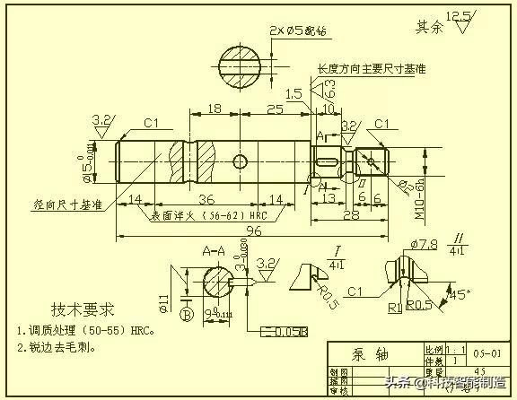 轴的知识,机械工程师不可缺少的四大类基础资料,你都记住了吗?
