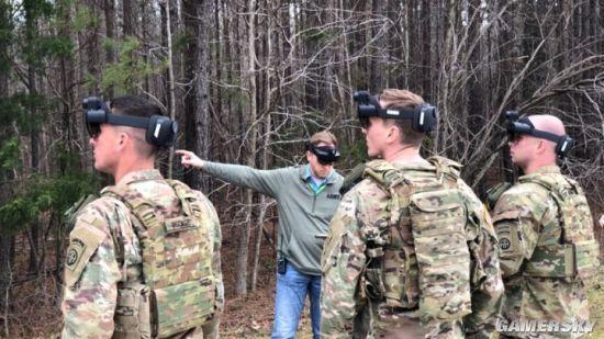 眼镜图片,记者体验美军定制HoloLens 2眼镜:就像现实版《使命召唤》