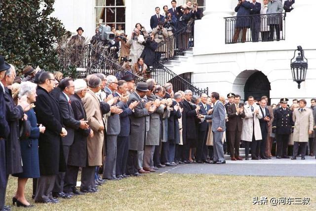 三军仪仗队图片,行走荷尔蒙,足以折服尼克松的三军仪仗队