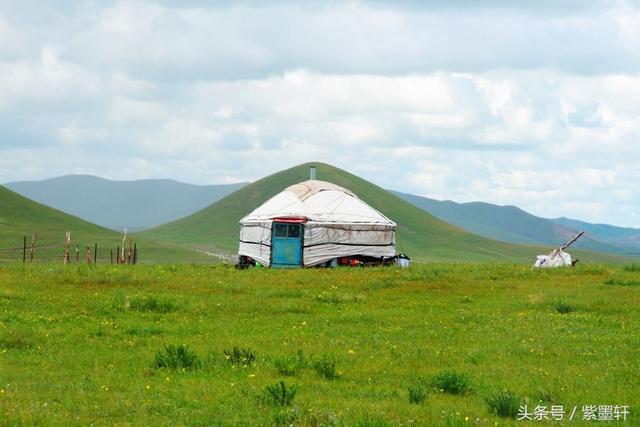 赞美草原的诗,「紫墨轩原创」七绝「草原印象」