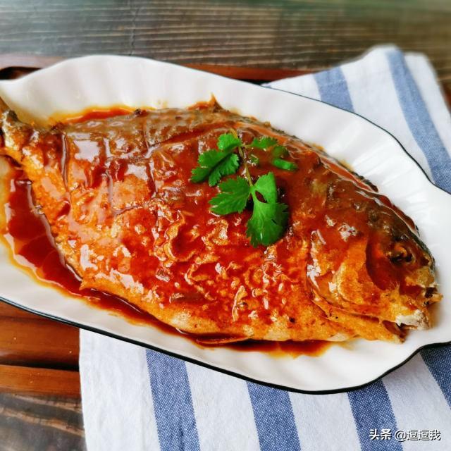 红烧平鱼的做法,红烧平鱼的做法!