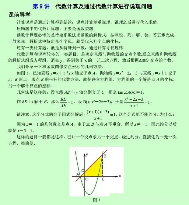 初中数学 | 动点与图形变换类压轴题(四)
