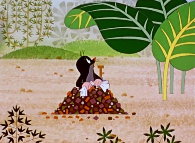 童年简介,怀旧动漫系列——《鼹鼠的故事》