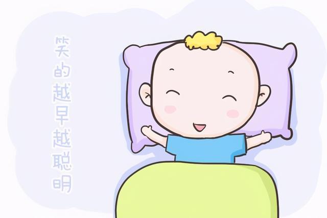 """初生婴儿,新生宝宝可爱的""""笑容""""是不是有什么特殊的含义?看完这篇就懂了"""