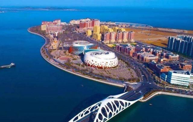 沿海港口烟台市的年销售额 仅次济南市,邻近水域的临沂市发展潜