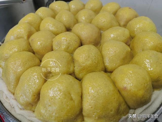 豆包的做法,教你黄米面粘豆包的做法,用料比例和调馅方法,全部给你讲清楚