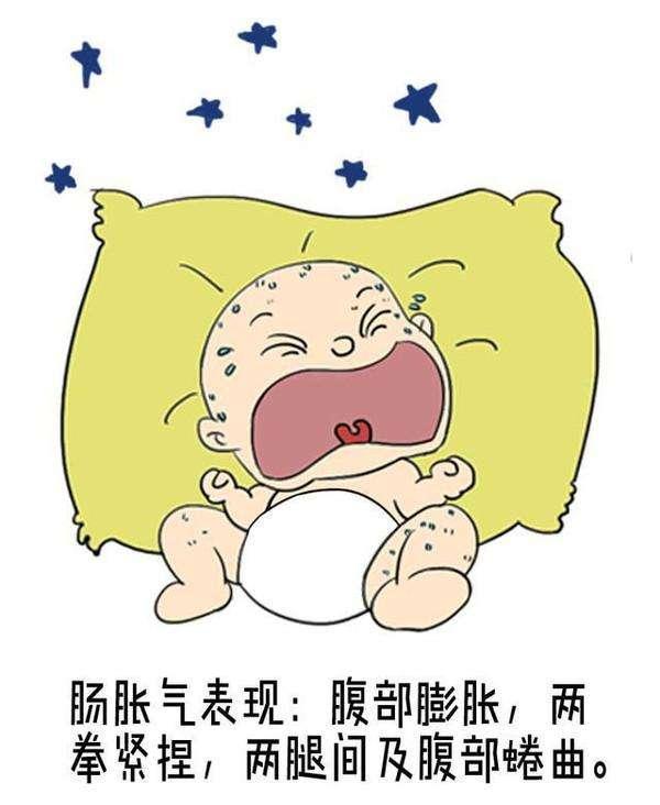 婴儿肠,宝宝肠胀气是怎么回事?和6个因素有关,4个小妙招缓解肠胀气