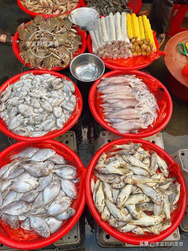 海产品有哪些,沿海8种不常见的海鲜,便宜的不到8块,全都是不错的下酒菜