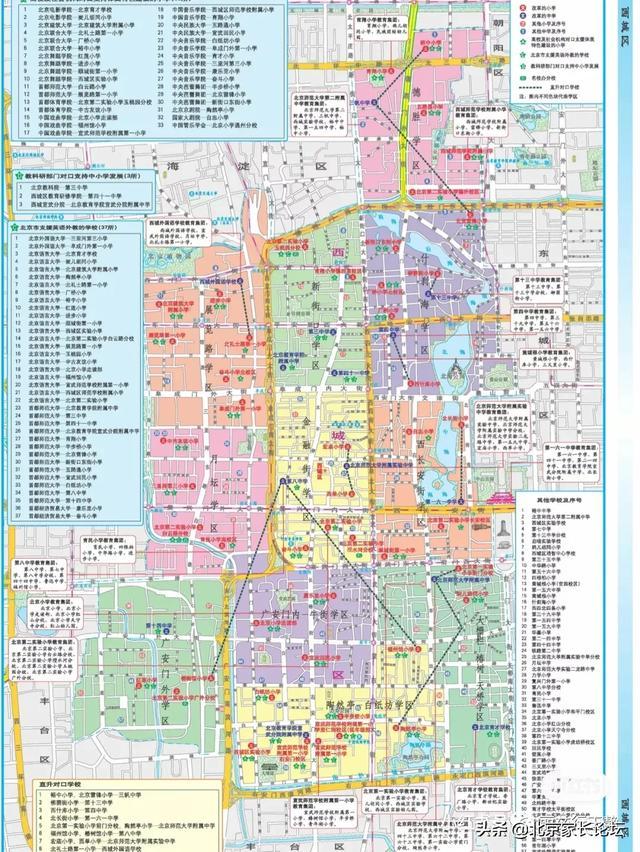 北京小学排名,北京小学排名(西城区、东城区、海淀区、朝阳区)
