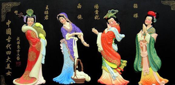 貂蝉简介,中国古代四大美女之美貌与典故,到底有多美,竟被传颂千年
