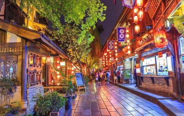 成都美食街,成都非常值得去的6大夜市,你耍过几个?