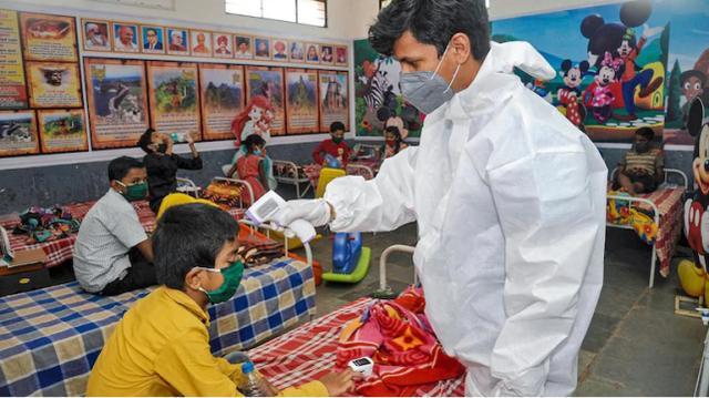 印度一地区单月有近1万名儿童新冠阳性,当地官员:不用惊慌 全球新闻风头榜 第1张