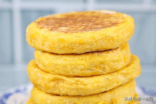南瓜饼怎么做,南瓜饼最简单的做法,不用一滴水一滴油,软糯香甜,易消化好吸收