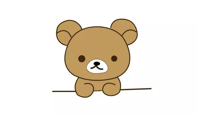 胖熊漫画,简笔画教程——手把手教你画可爱的胖熊简笔画