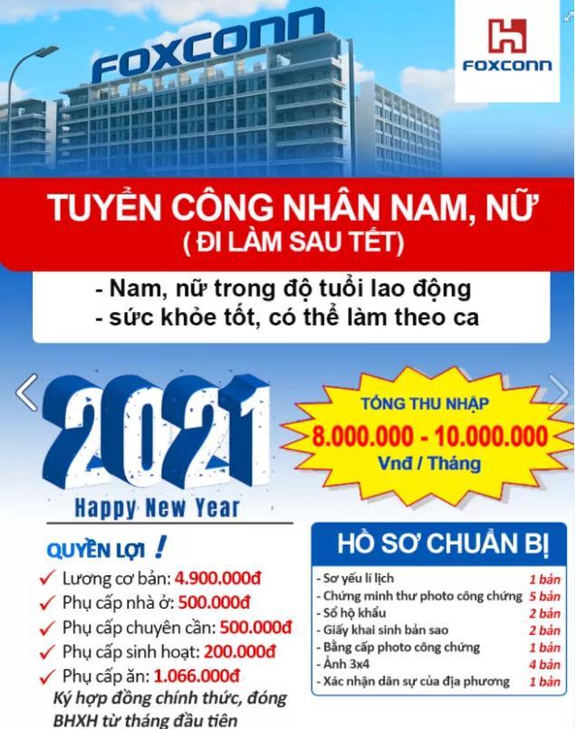 越南地区失业人数在2020年新冠肺炎疫情期内做到最大,为2.