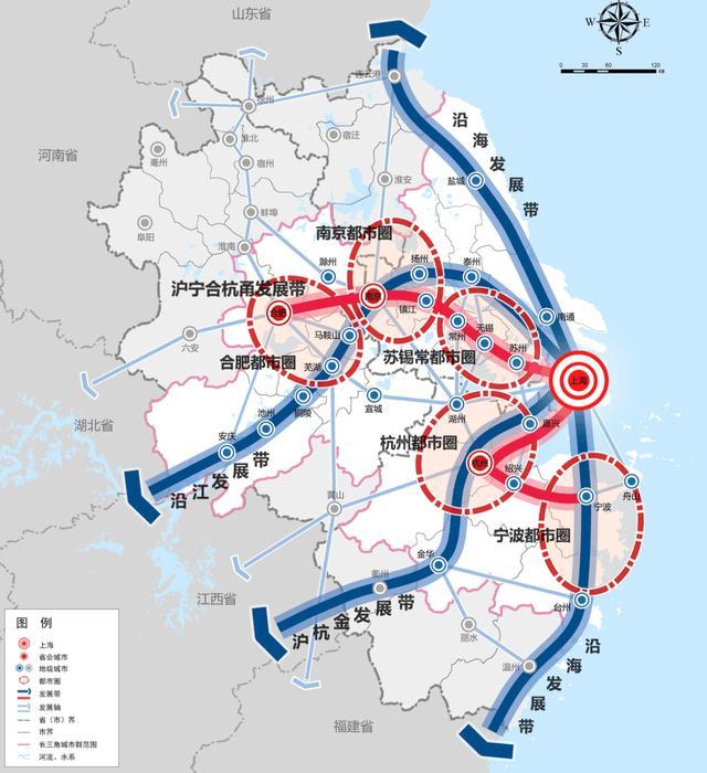 长三角2020年安徽省规模迈进3