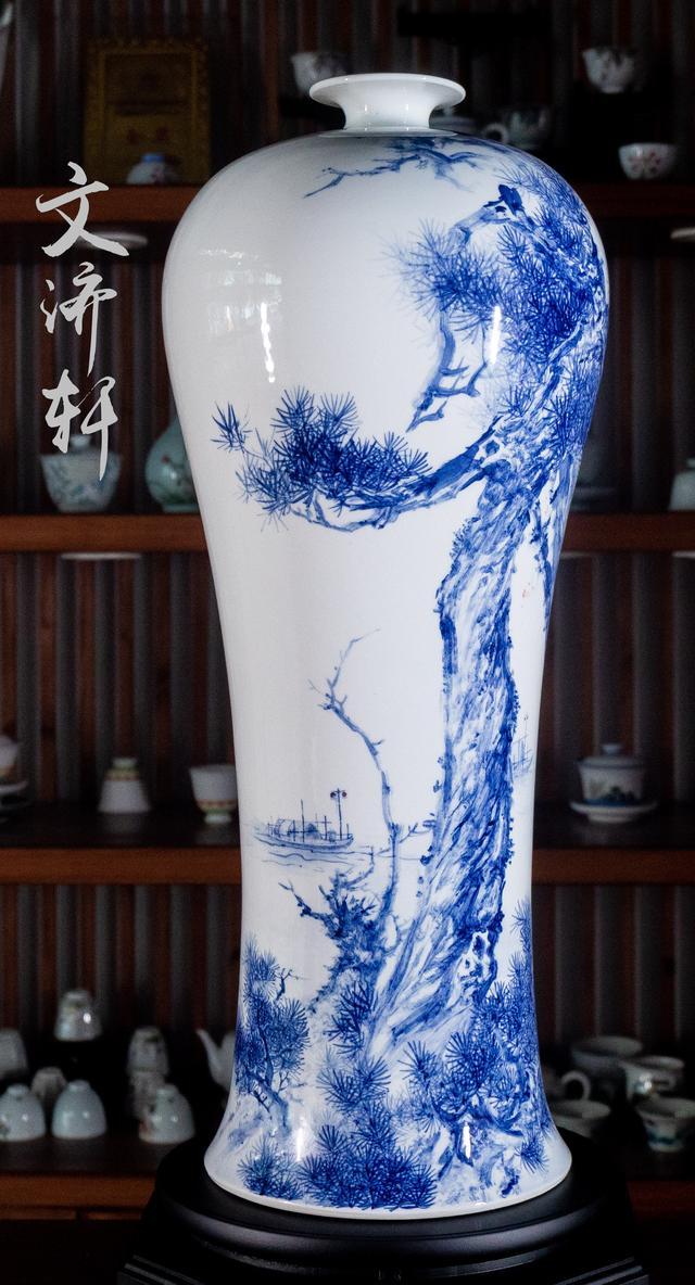 松寓意,陶瓷上画松树的寓意