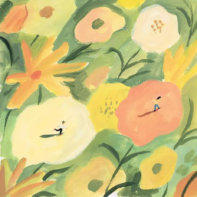 关于油菜花的唯美短句,静悄悄的三月天,静悄悄的油菜花田   陪孩子读诗