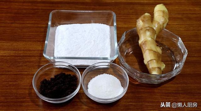 零食的做法,一块生姜,一碗糯米粉,教你秘制小零食,软韧可口,做法超简单