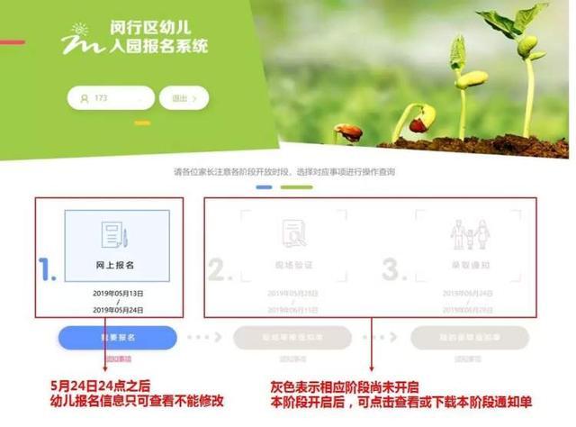 闵行网页设计,12日教育精选:闵行的爸爸妈妈注意啦!幼儿入园闵行网上报名系统明日开启