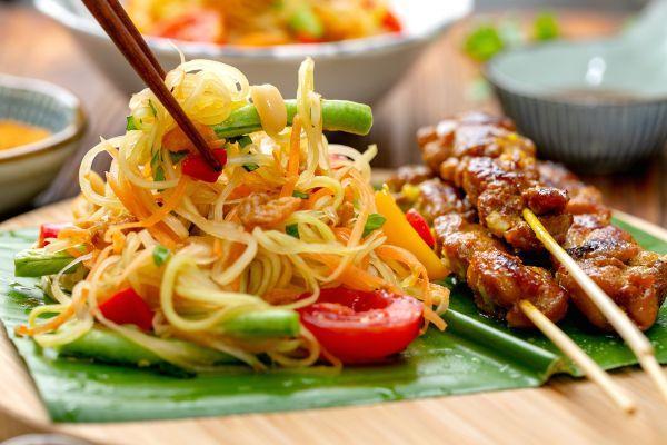 青木瓜的吃法,这样的青木瓜沙拉|清新爽口你吃过吗?