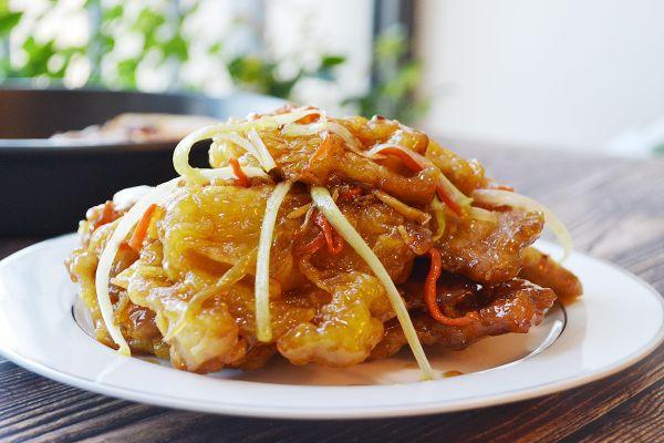 锅包肉的做法,美味签到——吃过都说好的东北老式锅包肉