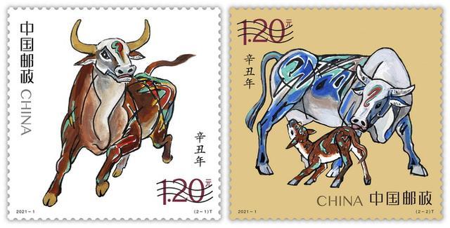 属牛1985,生肖牛邮票来了!一批牛年贺岁邮品集中发行