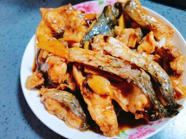 红烧鱼块的家常做法,大厨教你做红烧鱼,学会不用下馆子