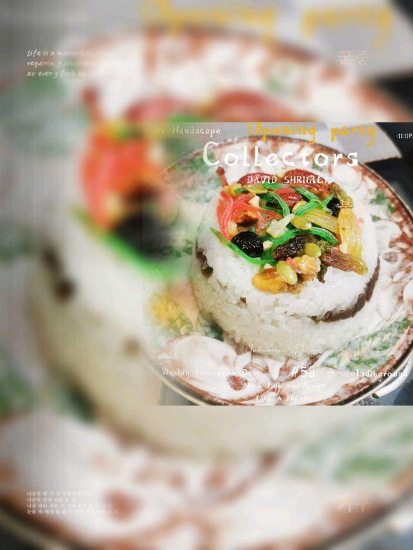绿瓜的吃法,苏式八宝饭(甜饭)这么做特别好吃,吃一周都不会腻
