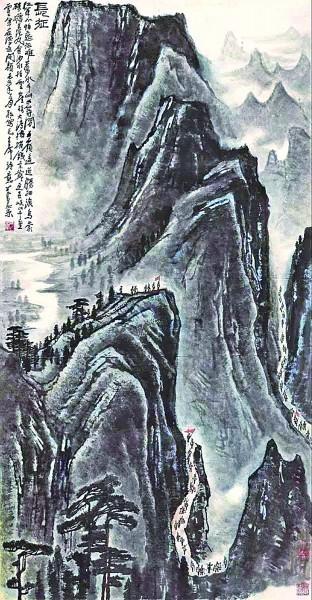 描写与的句子,欲与天公试比高——毛泽东长征诗词的意境