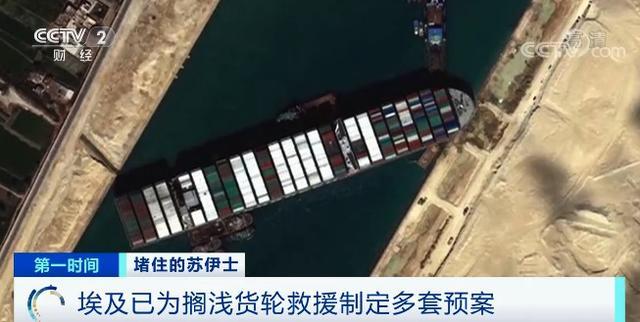 23日一艘超重型货船在苏伊士运河沉没导致航线拥挤现阶段