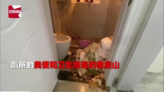 大受震撼!上海两名女租客未付房租偷溜,满屋垃圾粪便堆积如山,网友:干点人事吧
