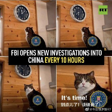 FBI每10小时启动一项对中国的新调查