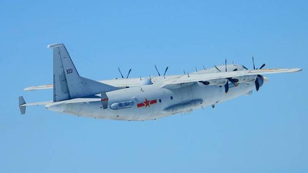 解放军军机次数频创纪录 今天已6度进入台空域