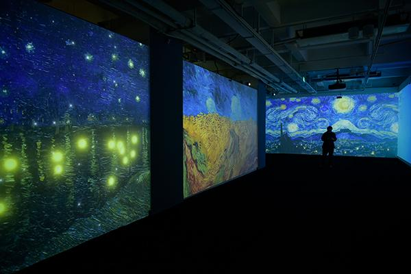"vr展,""五一""去美仑美术馆打卡 VR/AR艺术互动展带你解锁梵高的世界"