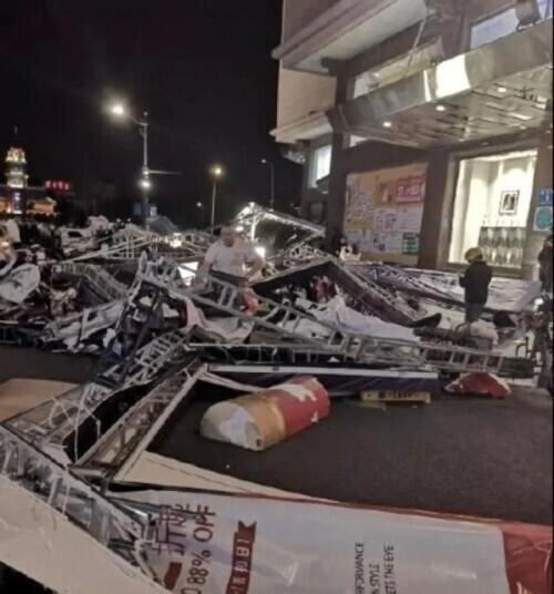 已致11死102伤,飞机被吹到原地转圈!江苏南通突遭极端灾害天气 全球新闻风头榜 第3张