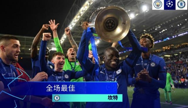 实至名归!坎特当选欧冠决赛全场最佳 全球新闻风头榜 第1张
